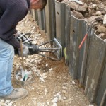 Tensioning of the ground anchor